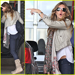 Gisele Bundchen Likes The Vibration