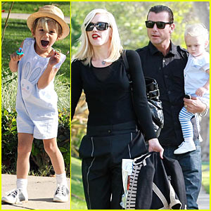 Gwen Stefani: Easter Sunday Fun Day!