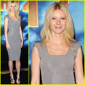 Gwyneth Paltrow: Iron Man 2 LA Photo Call!