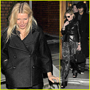 Gwyneth Paltrow & Madonna: Chelsea Chicks