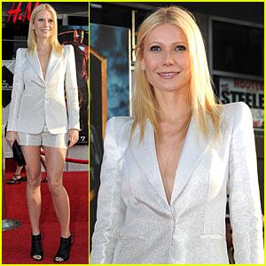 Gwyneth Paltrow: Shorts Suit Sexy