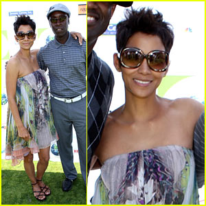 Halle Berry Golfs For The Jenesse Center