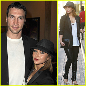 Hayden Panettiere &  Wladimir Klitschko Have 'The Perfect Game'