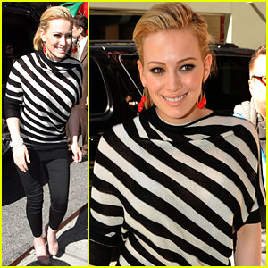 Hilary Duff Wants A Good Fight -- On The Ice!