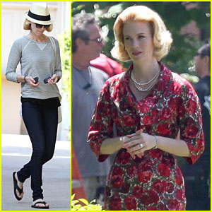 January Jones: 'Mad Men' Returns July 25!