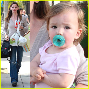 Jennifer Garner Has Family Fun
