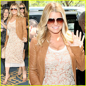 Jessica Simpson: Chelsea Piers with Ken Paves!