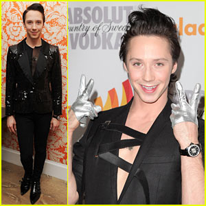 Johnny Weir: Grateful for GLAAD