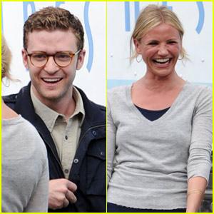 Justin Timberlake & Cameron Diaz: Laughing Ex-Lovers