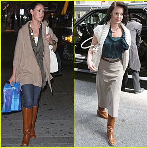 Katherine Heigl Heads to NYC with Nancy!