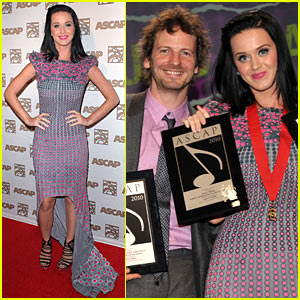 Katy Perry: Dr. Luke is Songwriter of the Year!
