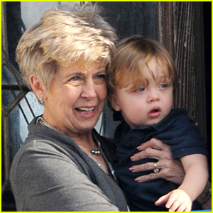 Knox Jolie-Pitt: Balcony Bonding with Grandma Jane!