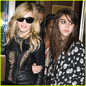 Madonna & Lourdes Leon are Material Girls