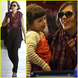 Maggie Gyllenhaal & Ramona: LaGuardia Ladies