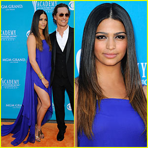 Matthew McConaughey - ACM Awards with Camila Alves!