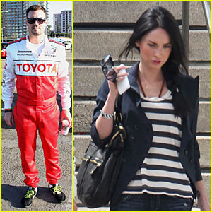 Megan Fox: Grand Prix to Watch Brian Austin Green Race!