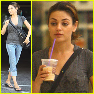 Mila Kunis Shops Victoria's Secret