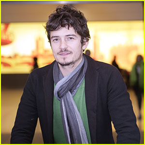 Orlando Bloom Lands in London
