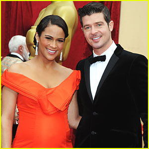 Paula Patton & Robin Thicke Welcome a Baby Boy!