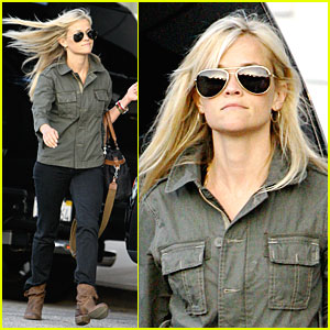 Reese Witherspoon: Hair Blown Babe!