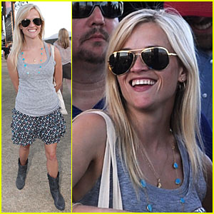 Reese Witherspoon Rides the Stagecoach