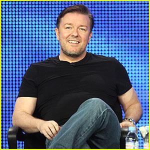 Ricky Gervais: Hosting 2011 Golden Globes!