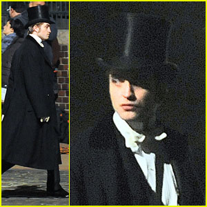 Robert Pattinson Gets Formal For Bel Ami