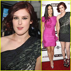 Rumer Willis & Demi Moore Keep Up With 'The Joneses'