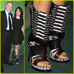 Salma Hayek's Balenciaga Boots -- HOT or NOT?