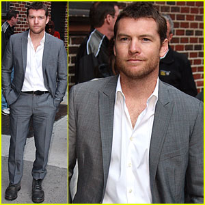 Sam Worthington Stops By The Late Show