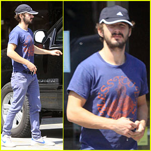 Shia LaBeouf Only Owns Three T-Shirts