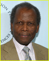 Sidney Poitier Crashes His Mercedes
