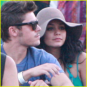 Zac Efron & Vanessa Hudgens: Coachella Cuties