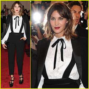 Alexa Chung: MET Ball 2010
