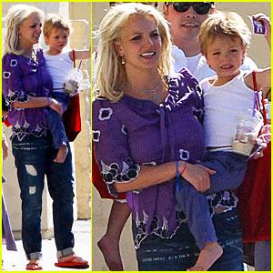 Britney Spears' Boys are Karate Kids