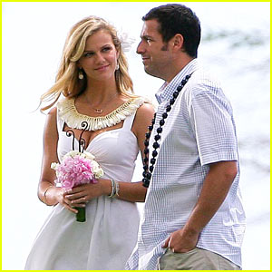 Brooklyn Decker & Adam Sandler: Wedding Pictures!