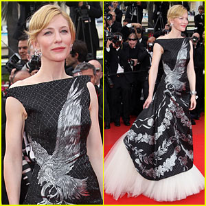 Cate Blanchett Cannes Honor McQueen