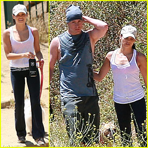 Jenna Dewan & Channing Tatum: Runyon Canyon Couple