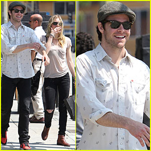 Chris Pine & Sorel Carradine: Shopping in Silverlake