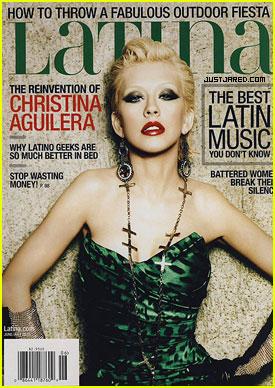 Christina Aguilera Covers 'Latina' Magazine June 2010