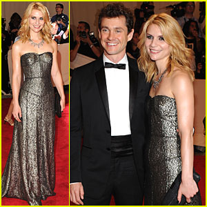 Claire Danes: MET Ball 2010 with Hugh Dancy!