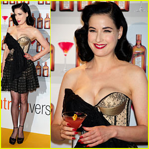Dita Von Teese Buys World's Gayest Shoes