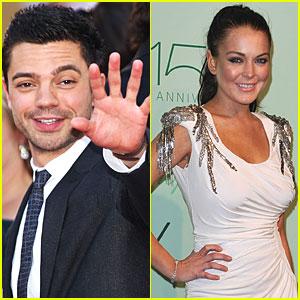 Dominic Cooper & Lindsay Lohan: New Couple?