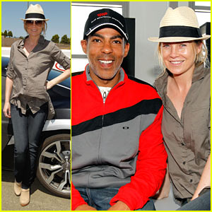 Ellen Pompeo & Chris Ivery: Racing Romantics