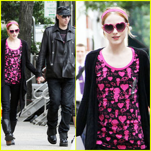 Evan Rachel Wood & Marilyn Manson: Mildred Pierce Pair