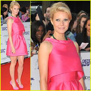 Gwyneth Paltrow: Hot Pink Prada!