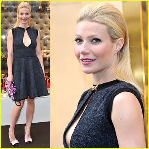 Gwyneth Paltrow: London Maison Opening of Louis Vuitton!