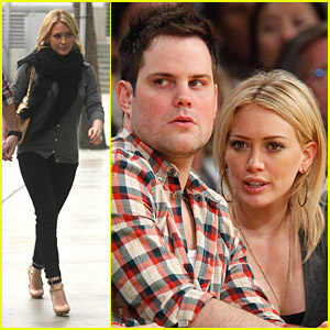Hilary Duff &#038; Mike Comrie: Courtside Couple