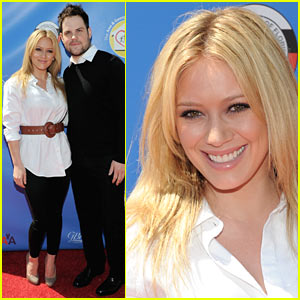 Hilary Duff & Mike Comrie: Golf Classic Couple