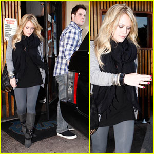 Hilary Duff & Mike Comrie: Katsuya Couple